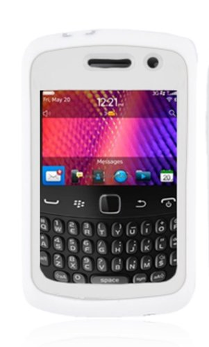 Aimo Wireless BB9370PCMX008S Guerilla Armor Hybrid Case with Kickstand for BlackBerry Curve 9370 - Retail Packaging - ()