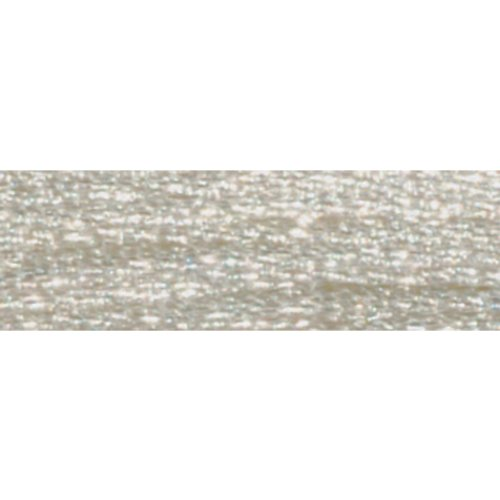 Dmc Light Effects Embroidery Floss - DMC 317W-E168 Light Effects Polyster Embroidery Floss, 8.7-Yard, Silver