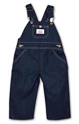 Boys In Bib Overalls (Round House Little Boys Bib Overall - Made in USA (Blue 7))