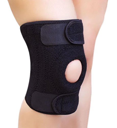 BeeChamp-Adjustable-Neoprene-Knee-Support-Kneecap-Compression-Sleeve-Open-Patella-Brace
