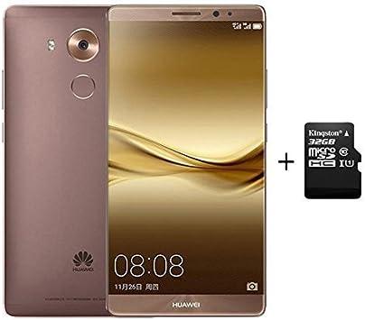 Huawei Mate 8 4GB+128GB Smartphone Mocha Gold + 64G C10 SD Memory ...