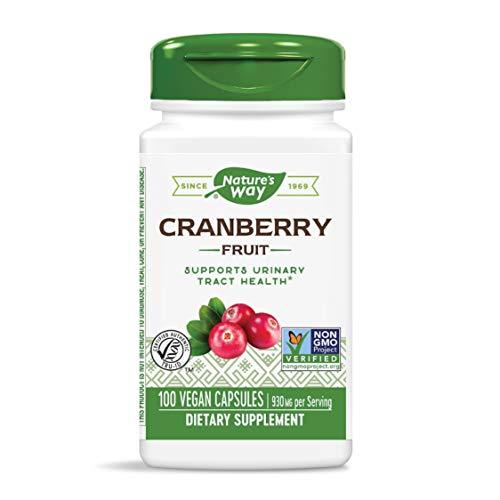 Nature's Way Premium Herbal Cranberry Fruit 930 mg per serving, 100 Capsules