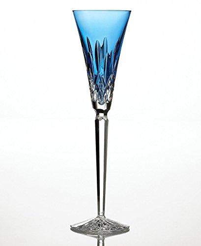 Lismore Jewels Tall Flute Glass Finish: Sapphire