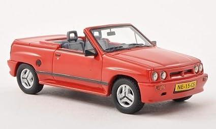 Opel Corsa Spider Irmscher i120, red, 1985, Model Car, Ready-made