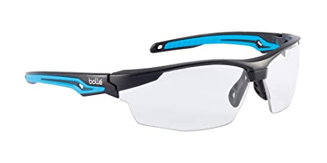 30a7008d26a Amazon.com   Bolle Safety Tryon Glasses with Clear Lens