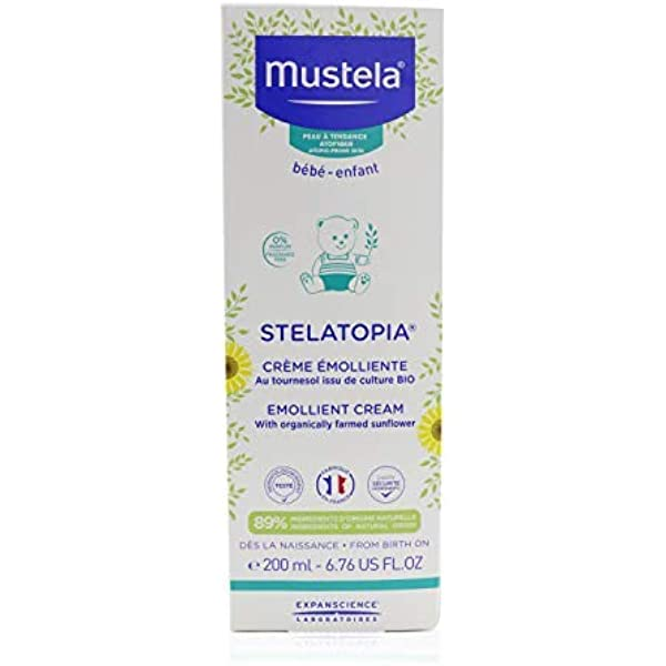 MUSTELA Stelatopia Emollient Cream 200 Ml 200 ml: Amazon.es: Belleza