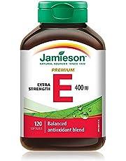 Vitamin E 400 IU Premium Complex with Mixed Tocopherols , 120 Count (Pack of 1)