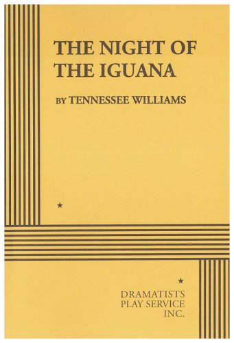 The Night Of Iguana Tennessee Williams