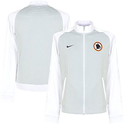 4f78c2e1e8 2016-2017 AS Roma Nike Authentic N98 Jacket (White) - Buy Online in Oman.