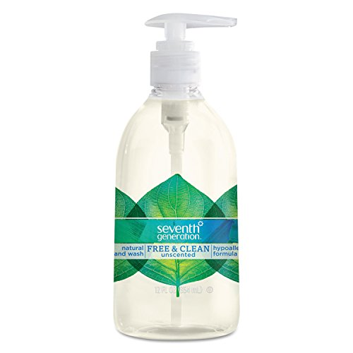 Seventh Generation Hand Wash, Free and Clear, 12 Ounce