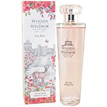 Woods of Windsor True Rose Eau De Toilette Spray for Women, 3.3 Ounce