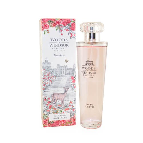 - Woods of Windsor True Rose Eau De Toilette Spray for Women, 3.3 Ounce