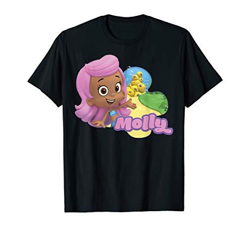 Bubble Guppies Molly Smiling Portrait Logo Poster T-Shirt]()