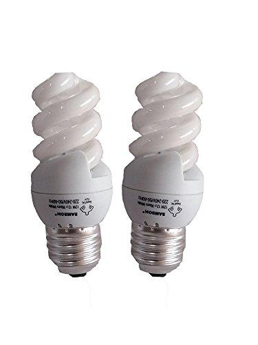 Samson 12W E27 Liliput Spiral CFL Bulb (Warm...