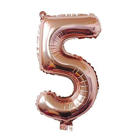 32 pulgadas rosa azul globos de la hoja número 0-9 globos para cumpleaños decoraciones de la fiesta de aniversario de boda