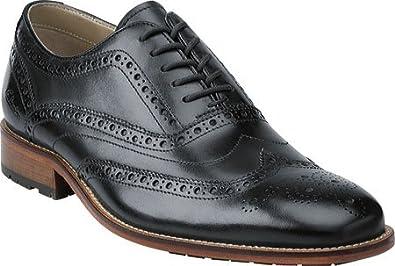 Clarks Men's Penton Limit Dark Blue Leather Oxford