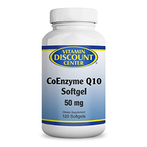 Vitamin Discount Center Coenzyme Q10 50mg, 120 Softgels