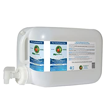 Earth Friendly Products Proline PL9754/05U Wave Gel Free and Clear Detergent with Rinse Aid, 5 gallon Deltangular, For Automatic Dishwashing Machinery