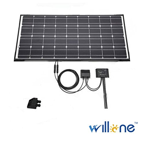Willone WL-ABS-CB-B 84 KITS Weatherproof ABS Solar Double Cable Entry Gland for All Cable Types 2mm² to 6mm² for Solar Project on Rv, Campervan, Boat by Willone
