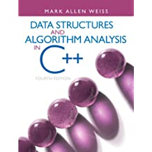 Data Structures and Algorithm Analysis in C++ (4th Edition)