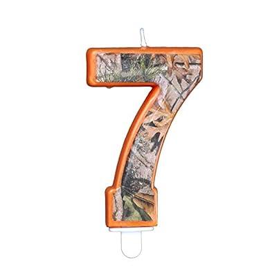 Havercamp Camo Birthday 3 Inch Number
