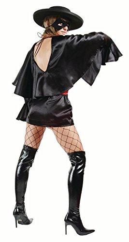 [Masked Bandit-Dress, Belt (Standard;Medium)] (Masked Bandit Costume)