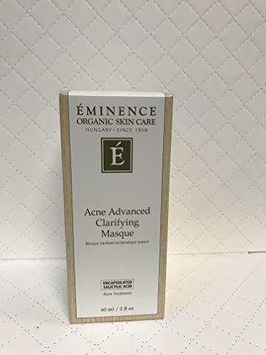 Eminence Organic Skincare Acne advanced clarifying masque 2 oz 60 ml, 2.0 Ounce