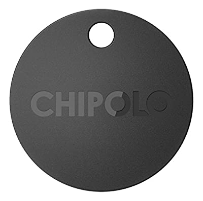 Chipolo Plus Smart Keyring Bluetooth Tracker Black from Chipolo d.o.o