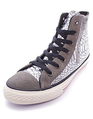 Converse Chuck Taylor HI Side Zip Textile/Suede Print Mujer, ante, zapatillas High