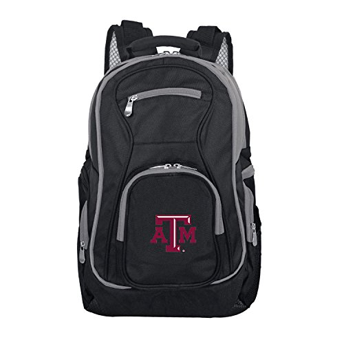 NCAA Texas A&M Aggies Colored Trim Premium Laptop Backpack (Texas A&m Backpack)