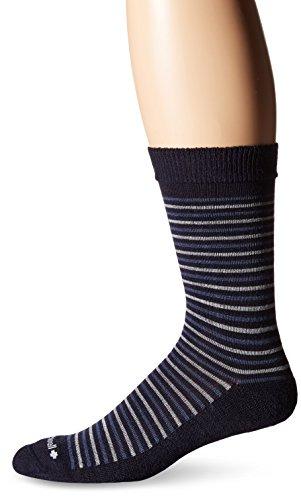 Sockwell Men's Kick Back Socks, Navy, Large/X-Large