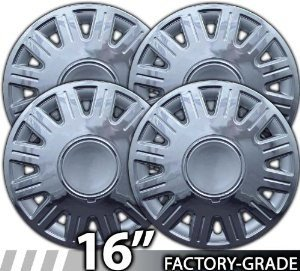 Tpp 03-2005 Crown Victoria Grand Marquis Complete Set of All 4 Wheel Covers 6412 New