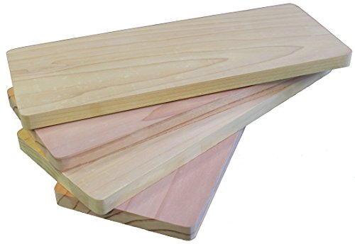 Cedar Grilling Planks For Salmon - Made in USA - 4.25