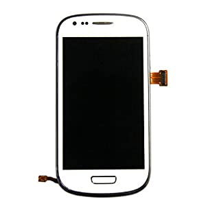 samsung galaxy s3 siii mini gt i8190 white full front. Black Bedroom Furniture Sets. Home Design Ideas