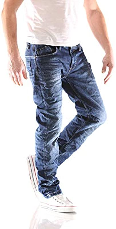 Big Seven Morris Night Blue Regular dżinsy męskie: Odzież