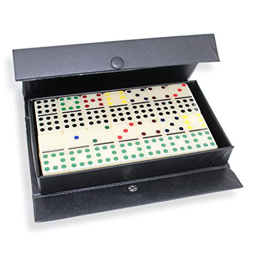 We pay your sales tax Dominoes Double 9 Color Dot in Snap Vinyl Case