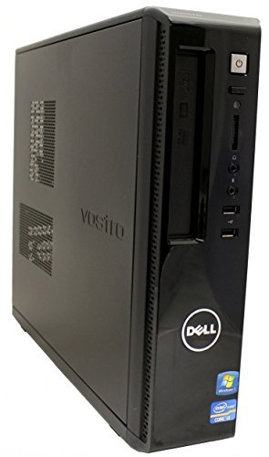 Dell Vostro 260s Slim Tower Business Desktop Computer, Intel Dual-Core i3-2100 3.1GHz, 8GB RAM, 500GB HDD, DVD, WIFI, HDMI, VGA, Rj-45, Windows 7 Professional (Certified Refurbished)
