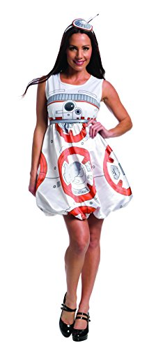 Rubie's Women's Star Wars Episode VII: The Force Awakens Deluxe BB-8 Costume, Multi, (Star Wars Women Costumes)