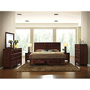 Amazon Com Ashley Porter King Panel Bed In Vintage