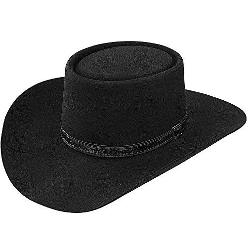 Stetson Men's Revenger Western Hat Black 7 1/4