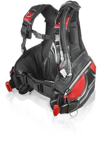 Mares Prestige BC with MRS Plus Weight Pockets - Black/Red - Medium