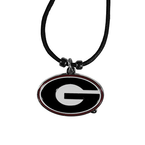 Siskiyou NCAA Georgia Bulldogs Cord Necklace, 21