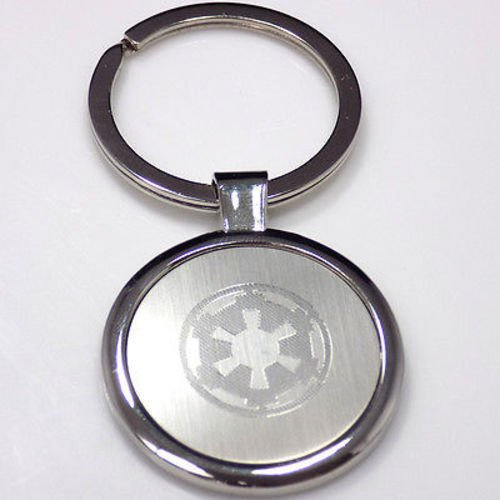 Storm Trooper New Star Wars Keychain Key Tag Engraved Silver Tone Metal KEN-0036