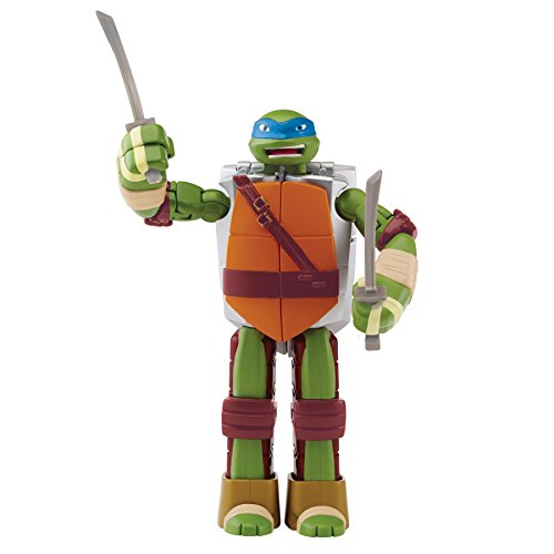Teenage Mutant Ninja Turtles Mutations Figure To Weapon Leonardo Figure