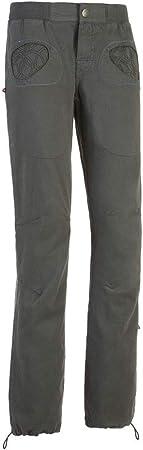 E9 Enove Pantalones de escalada Onda Slim (Iron) Mujer