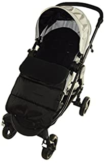 Cosy Toes Compatible with  Mountain Buugy Mini Pushchair Ocean Blue Footmuff