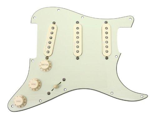Fender Jeff Beck Hot Noiseless Loaded Pickguard Mint Green / Aged White (Beck Jeff Strat)