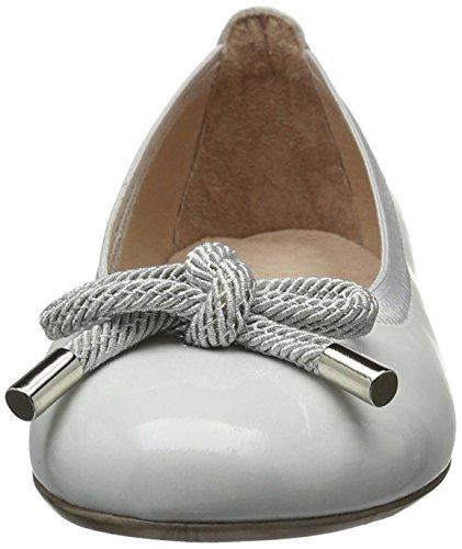 Hispanitas Macadam-v7, Ballerine Donna Weiß (Kaffir-v7 White)