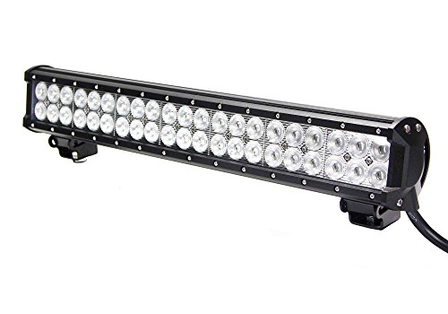 ALL GOOD LED Dual CREE Light Bar 20 Inch 126 Watt Combo