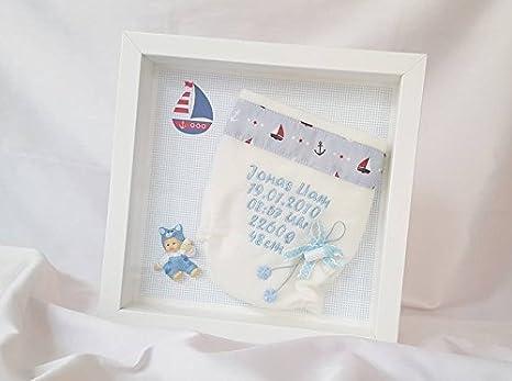 Panales Bordados Para Bebes.Panales Bordado 3d Marcos De Fotos Nacimiento Regalo